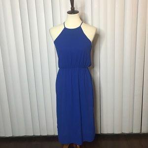 Stunning blue chiffon dress 👗